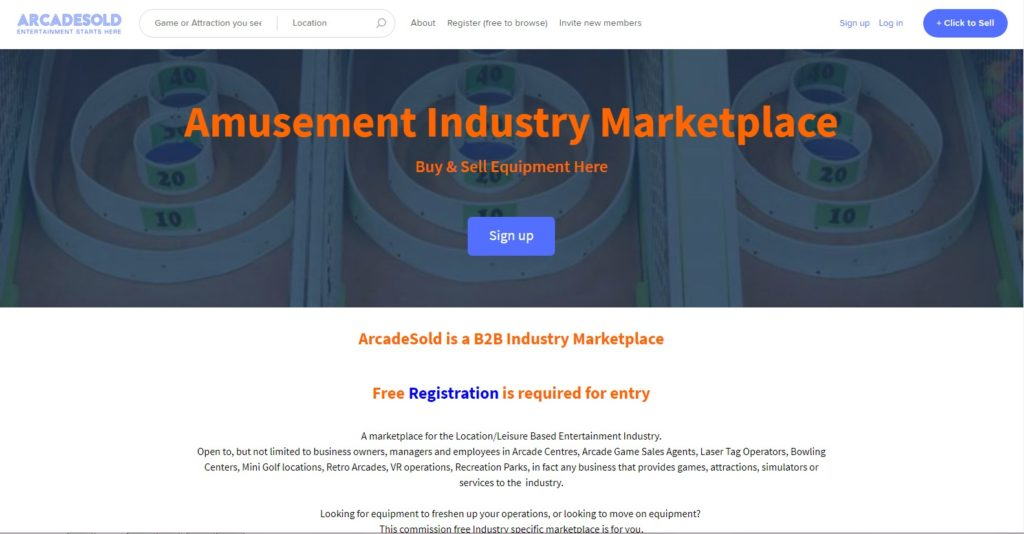 B2B market grows with new site for arcade attractions and
