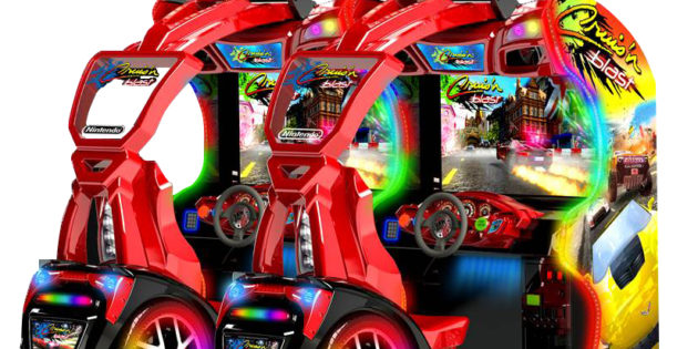 ARCADE: Bandai Cruis'n with driving game performance