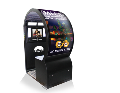 Dallas debut for new Digital Centre booth