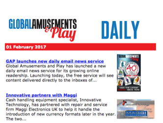 GAP launches new daily email news service