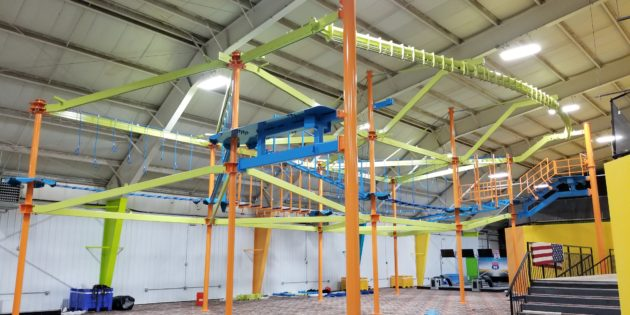 HIGH ROPES: New Sky Trail for Hooplas Xtreme