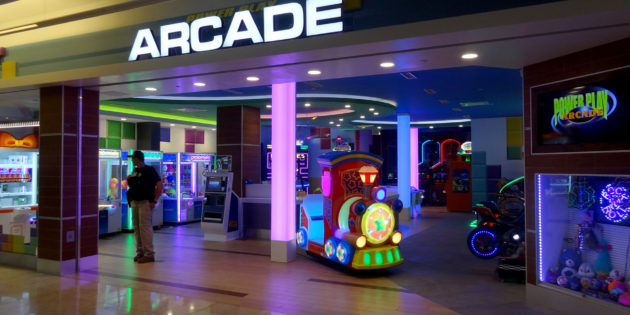 PowerPlay adds Embed at busy airport arcade