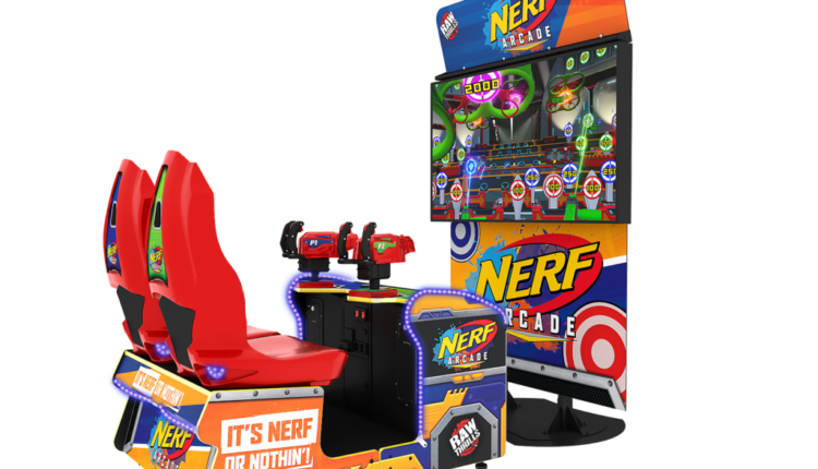 Raw Thrills and Hasbro announce Nerf Arcade