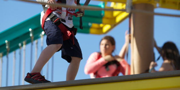 HIGH ROPES: Ropes Courses on board for MSC