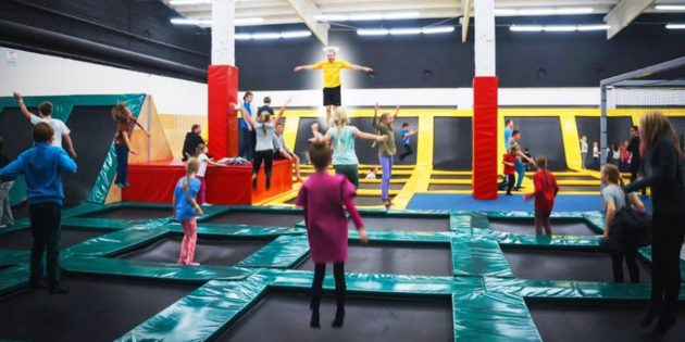 TRAMPOLINES: First centre opens in Iceland