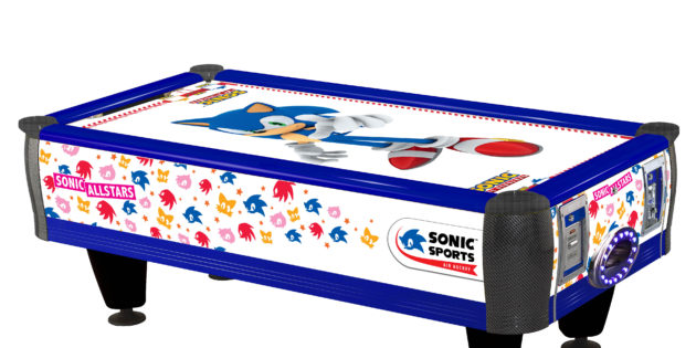 Sega adds Sonic-branded air hockey