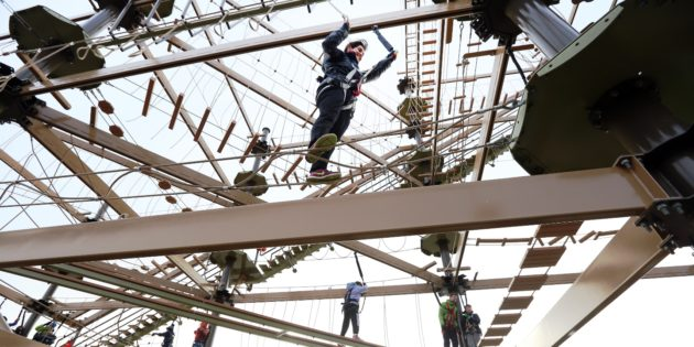 HIGH ROPES: RCI partners up for EAS