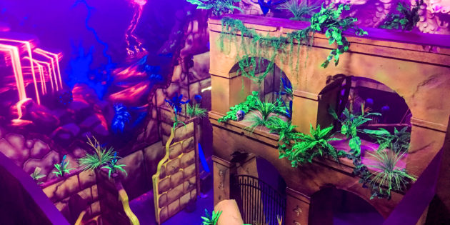 THEMING: Creative Works thrills laser tag venue
