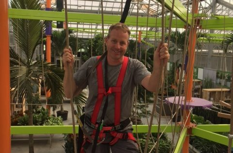 HIGH ROPES: Wilson's Lifestyle in Sky Rail first