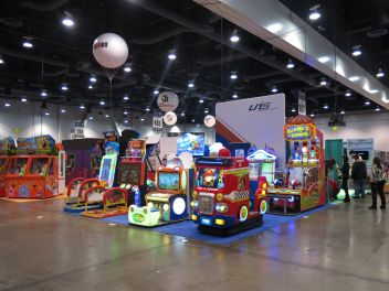 Amusement Expo success for UNIS