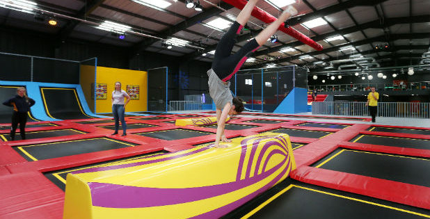 TRAMPOLINES: Second opening for Red Kangaroo